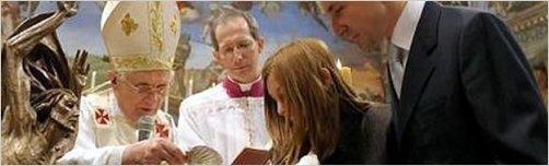 El Papa lamenta que la sociedad vea a Dios