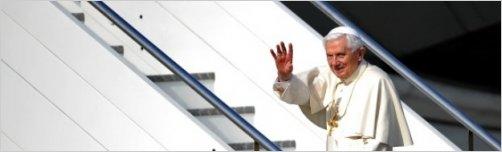 El Papa se despidi� de M�xico llamando a luchar contra las fuerzas del mal